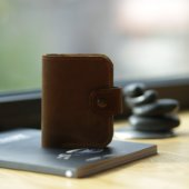 Small Full Leather Wallet