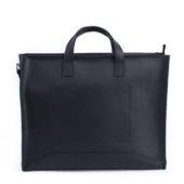 Handmade Leather Black Briefcase