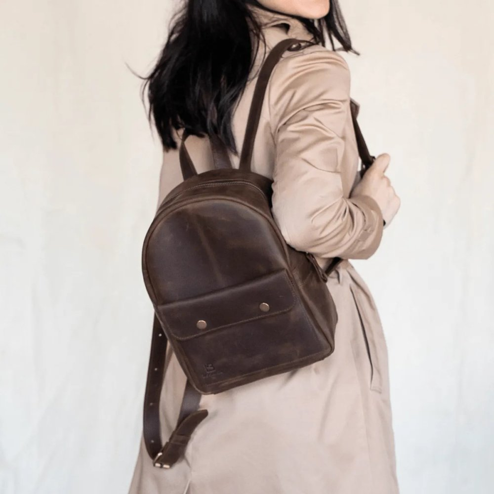 Stylish Brown Backpack