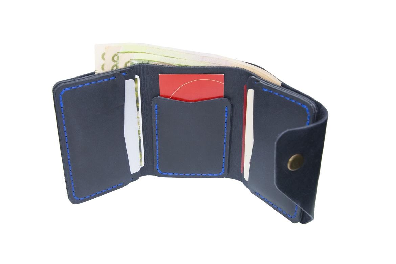Blue Triple Wallet