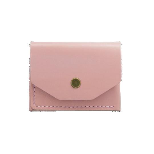 Glossy Pink Card Holder