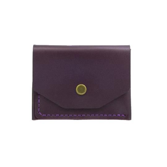Glossy Marsala Card Holder