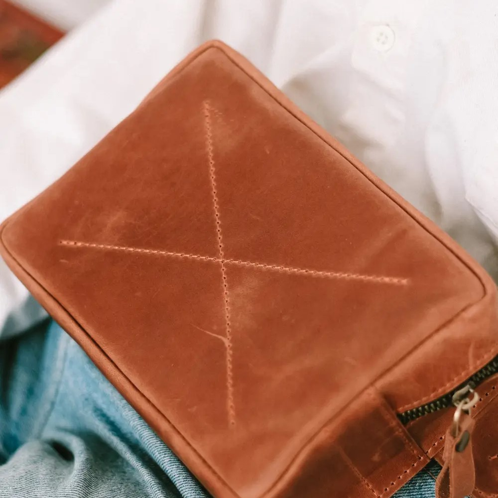 Cognac Hip Bag
