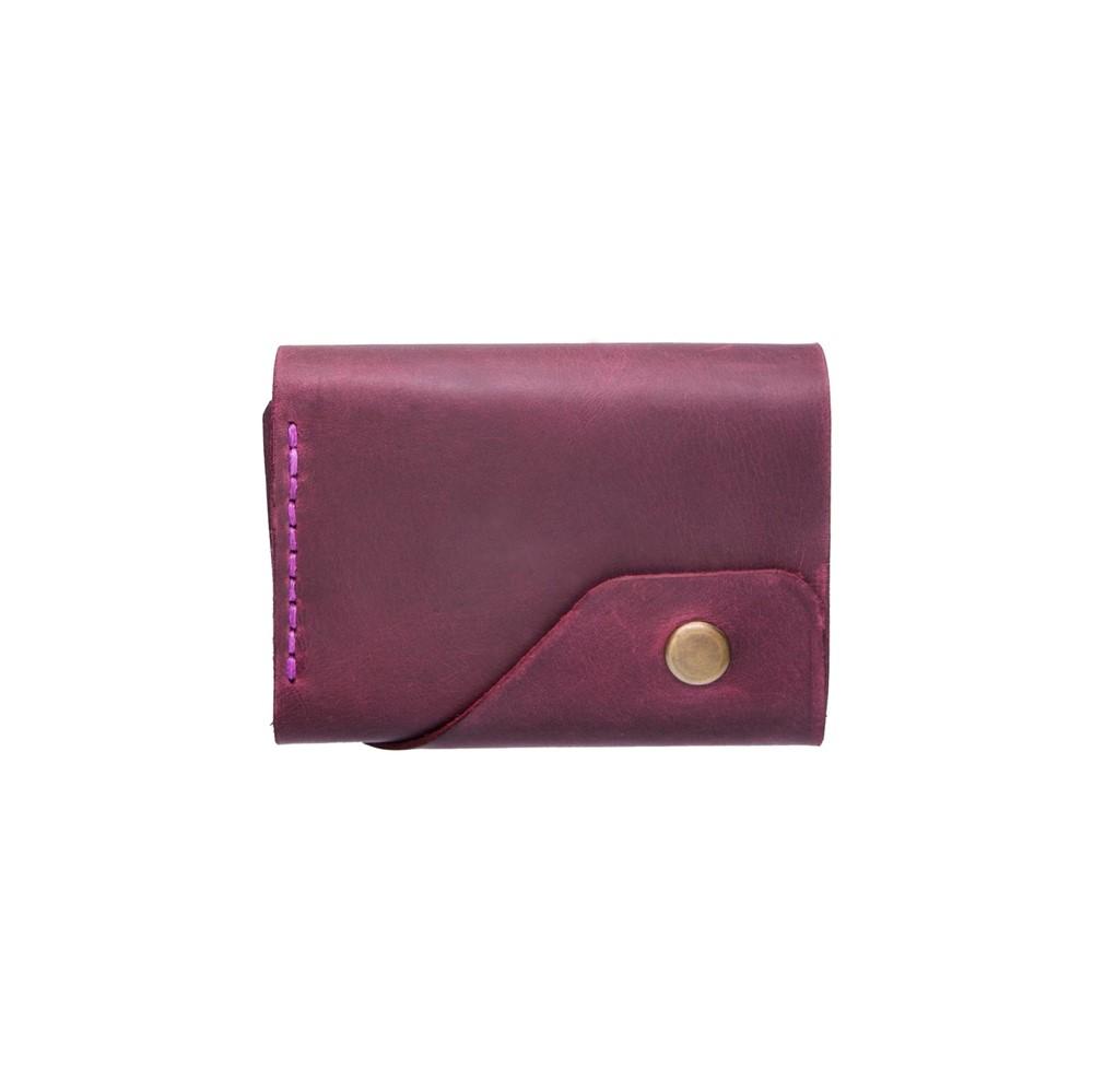 Marsala Triple Leather Wallet