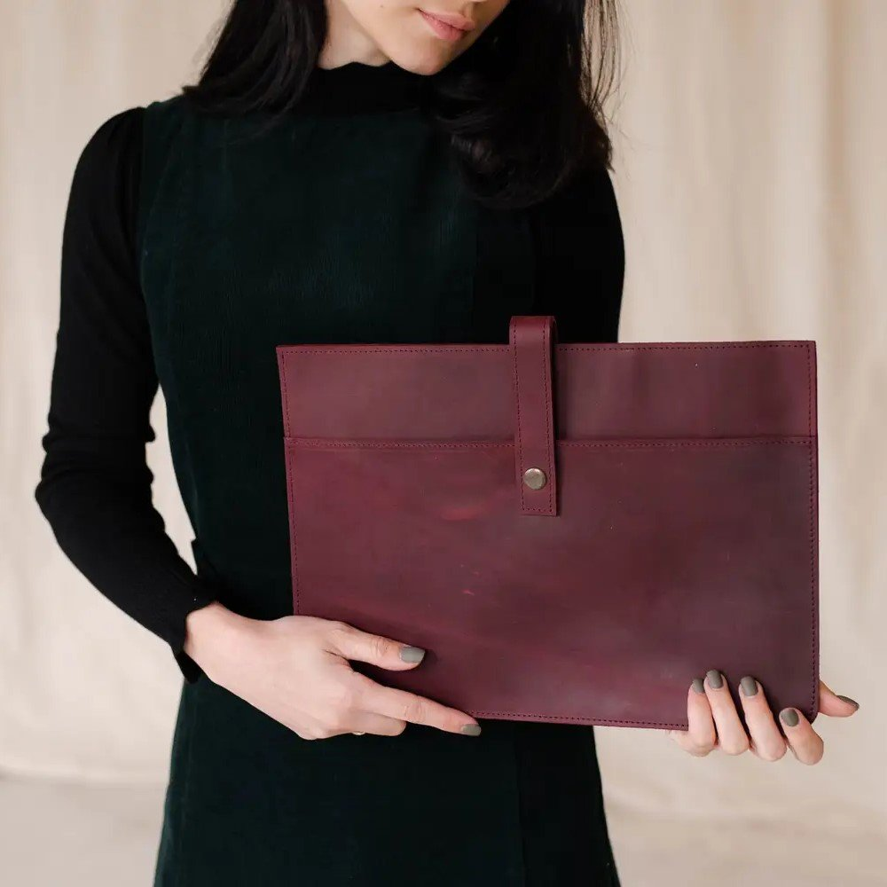 Leather MacBook Cover