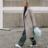 Women's Light Blue Backpack