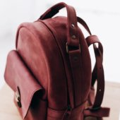Marsal Leather Backpack