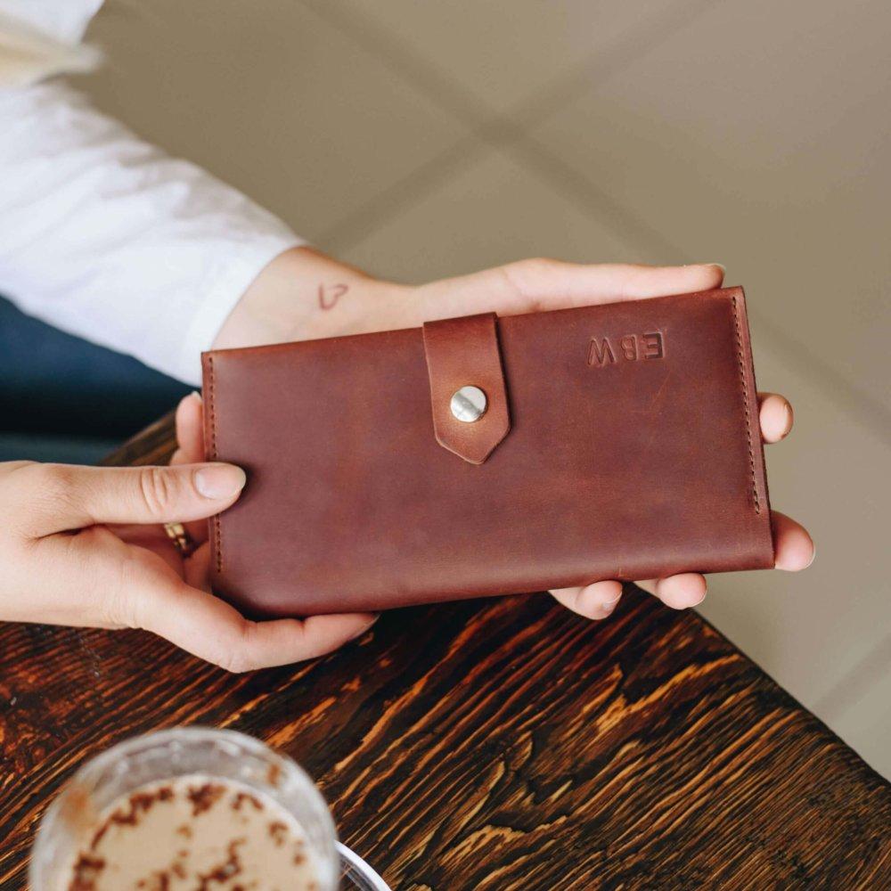 Cognac Bifold Wallet