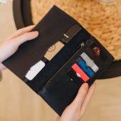 Black Bifold Wallet