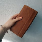 Wallet in Light Brown Leather