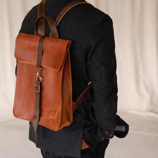 Cognac Backpack