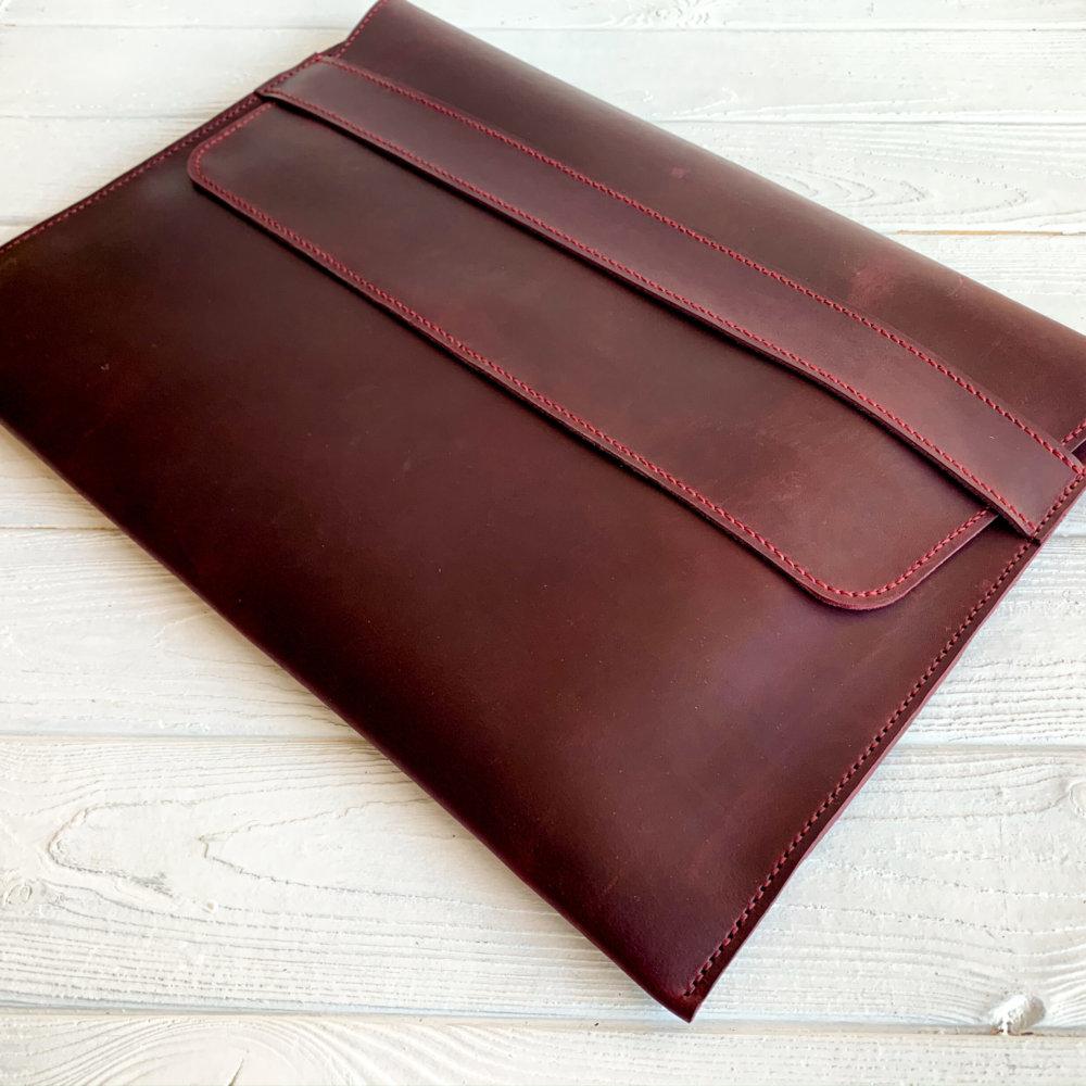 Marsala Leather iPad Сover