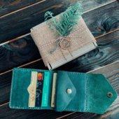 Green Envelope Wallet