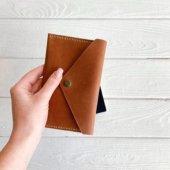 Leather Travel Wallet Organizer