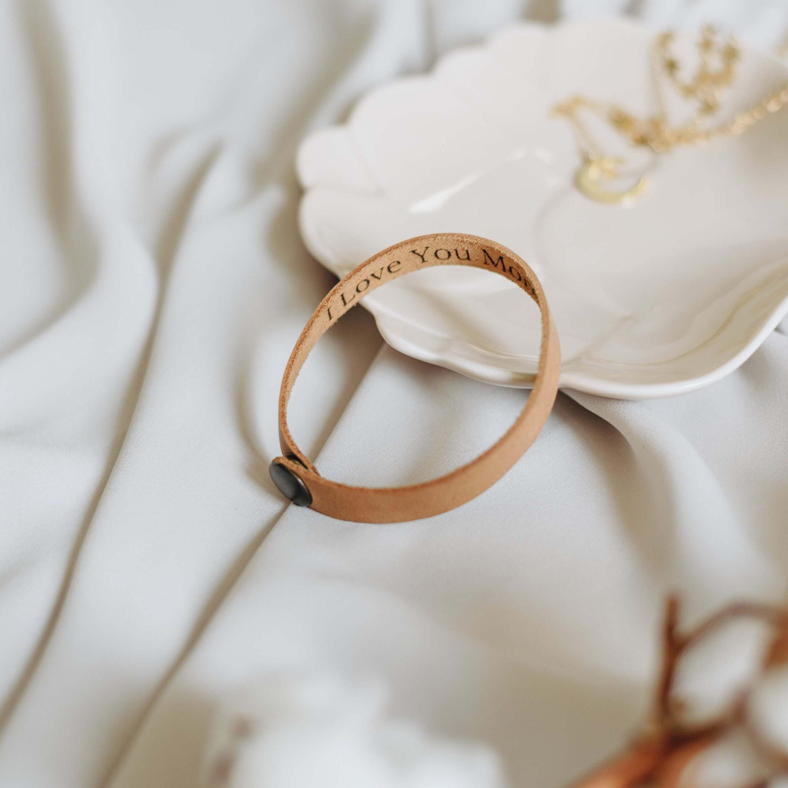 Handmade Leather Bracelet