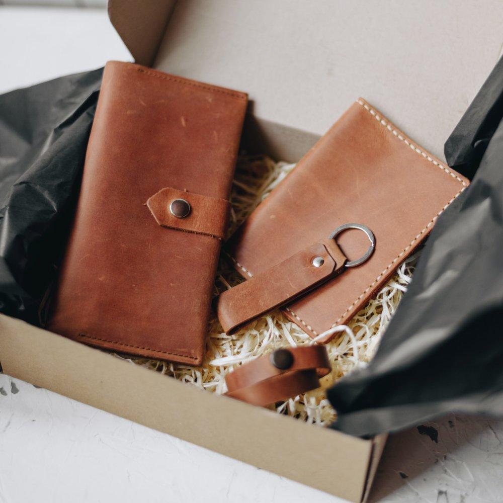 Men's Leather Gift Set