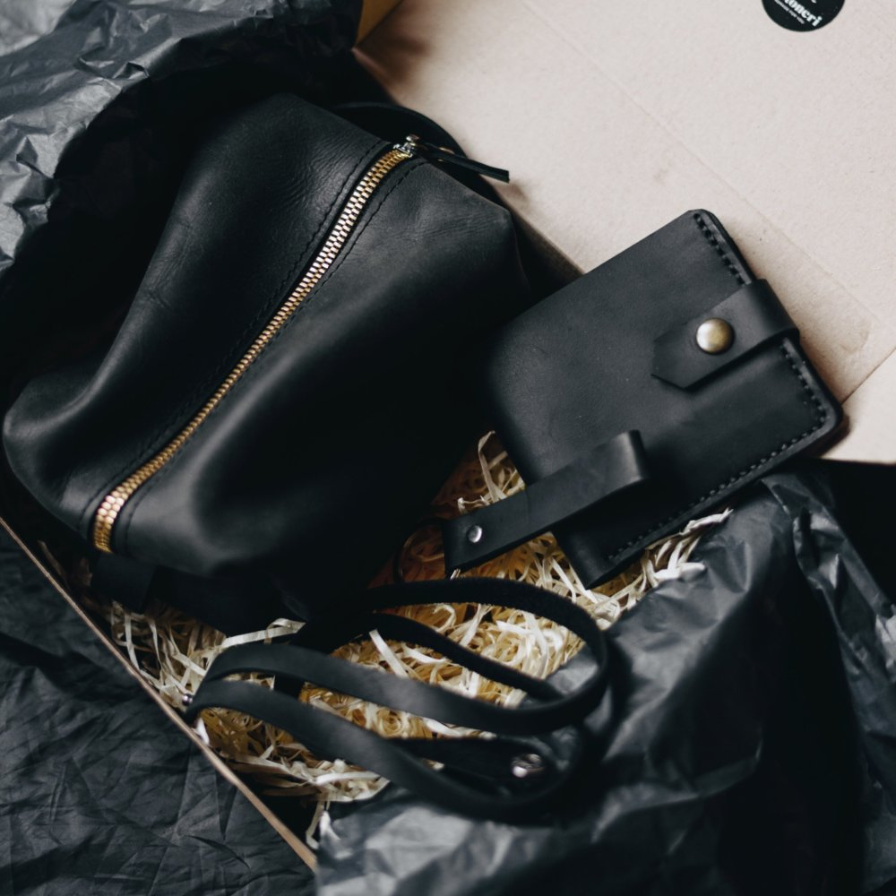 Leather Gift Set for Men