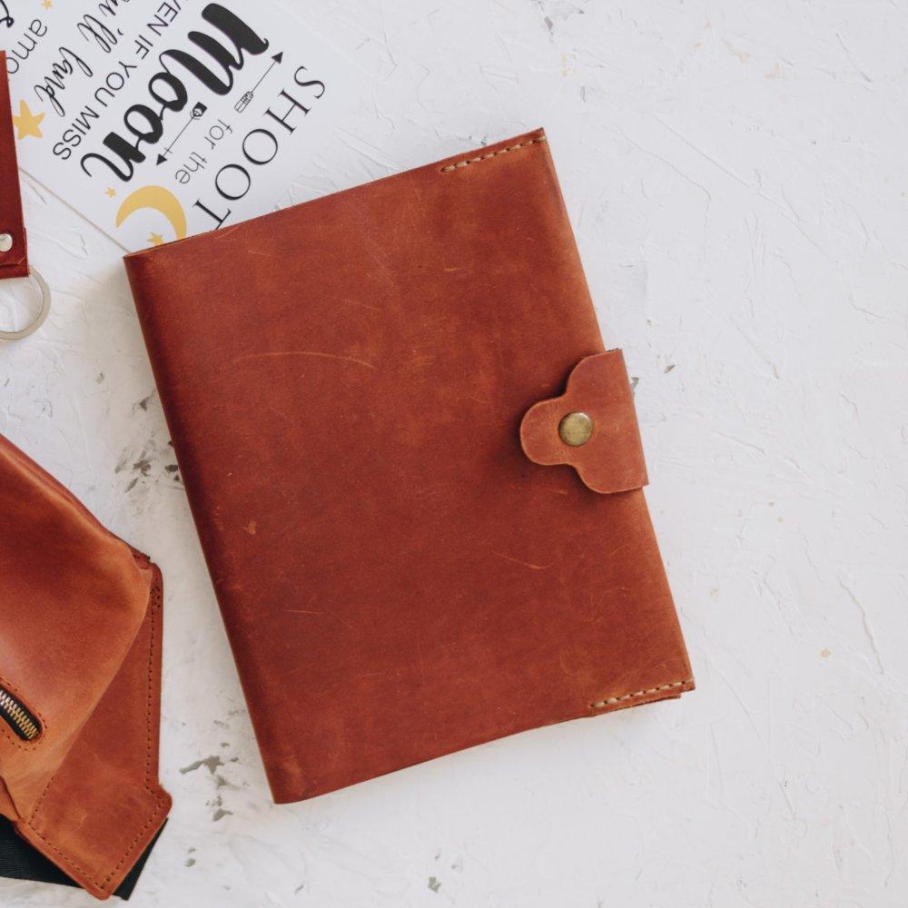 Cognac Travelers Notebook Cover