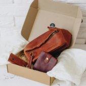 Unique Leather Gift Set