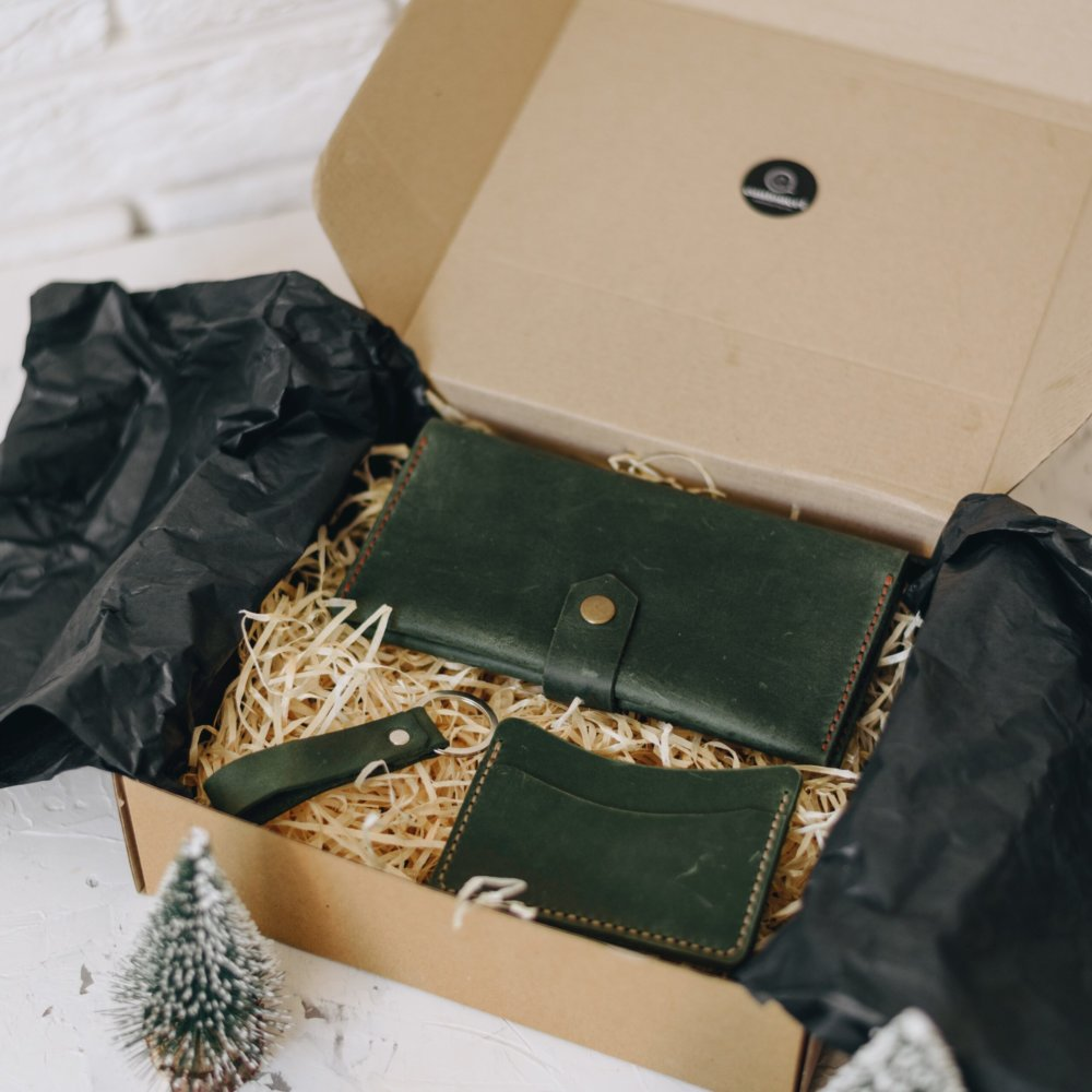 Leather Gift Set for Her