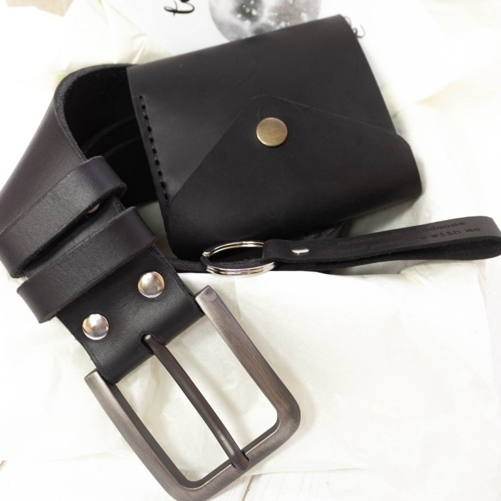 Luxury Leather Gift Set for Men