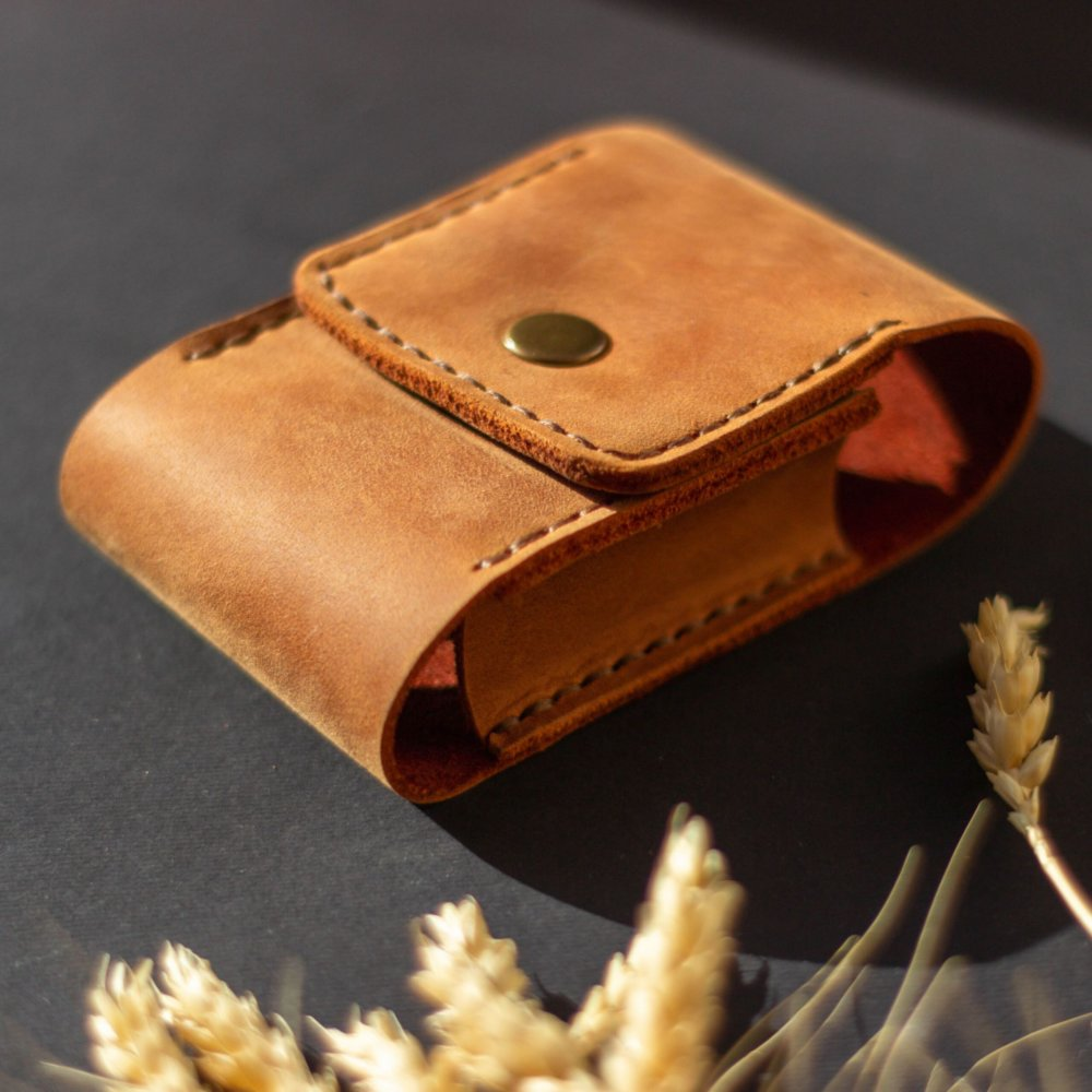 Vintage Leather Cigarette Case