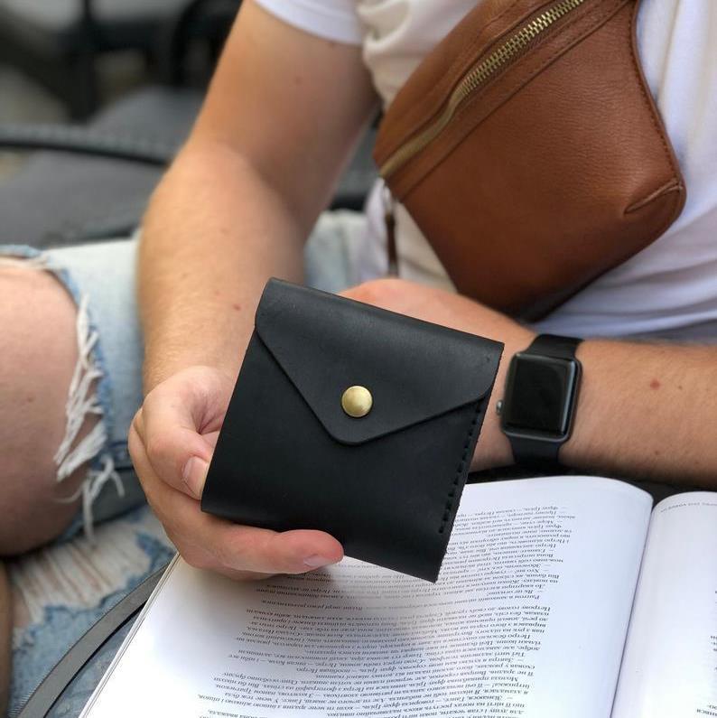 Leather Envelope Wallet