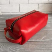 Red Dopp Kit