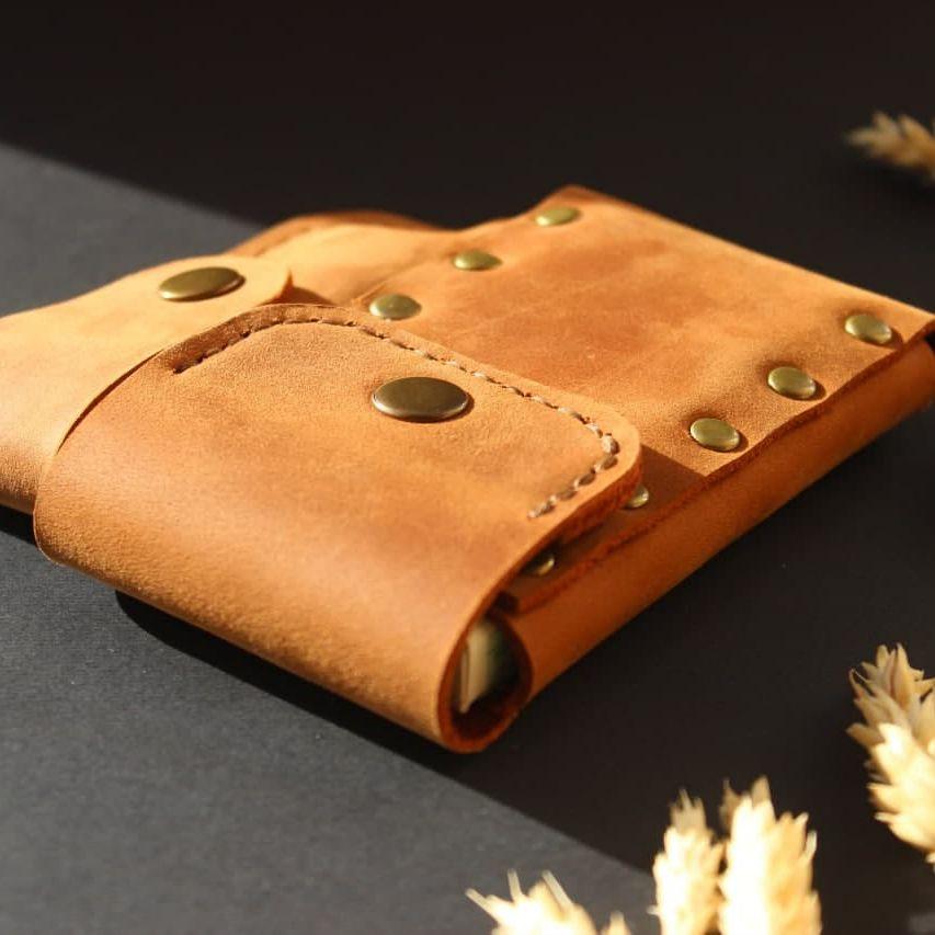 Leather Cigarette/Lighter case